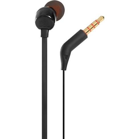 JBL T110BT In Ear Wireless Headphones w/ One Button Remote/Mic Black