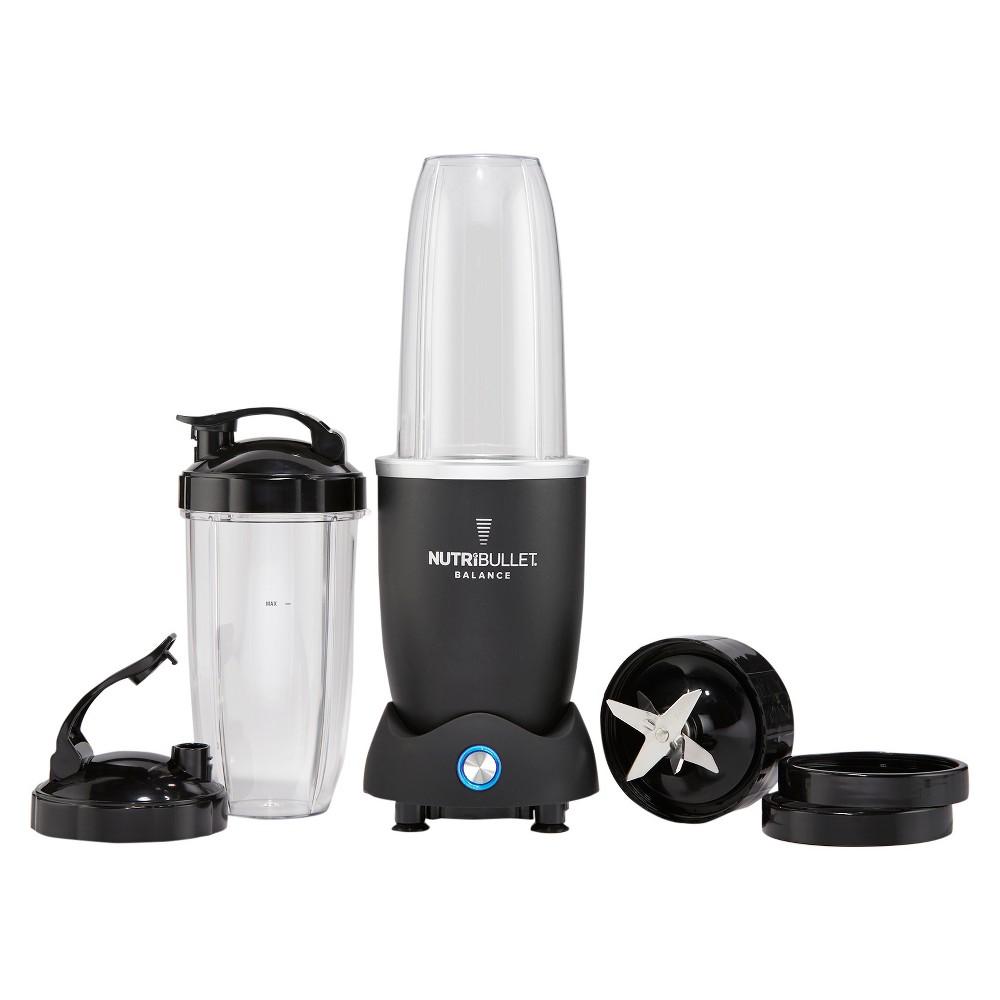 Image of NutriBullet Balance Bluetooth Enabled Smart Blender - N12S-0901, Black