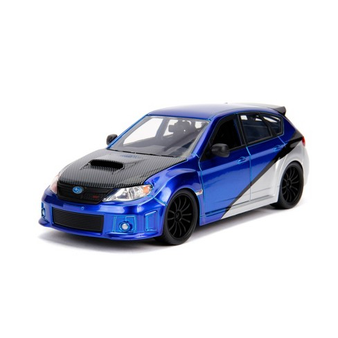 Jada Toys Fast & Furious 2012 Subaru Impreza WRX STI Die-Cast Vehicle 1:24 Scale Candy Blue - image 1 of 4