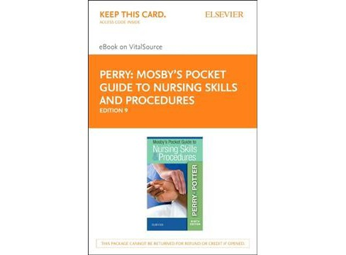 Mosby's Pocket Guide to Nursing Skills and Procedures Elsevier Ebook on Vitalsource Retail Access Card - image 1 of 1