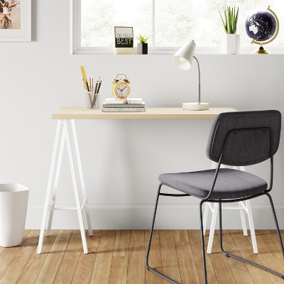 Trestle Desk White   Room Essentials™ : Target