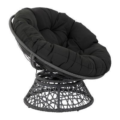 Papasan Chair Black - OSP Home Furnishings
