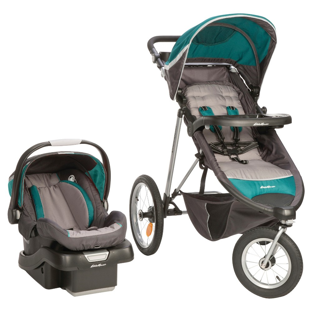 Eddie Bauer TrailGuide Jogger Travel System - Emerald (Green)