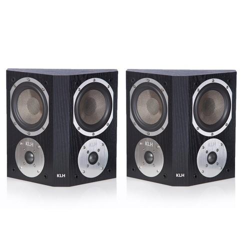 KLH Beacon Surround Speakers - Pair (Black Oak) - image 1 of 8