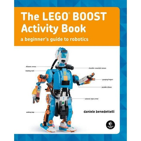 The Lego Boost Activity Book - by  Daniele Benedettelli (Paperback) - image 1 of 1