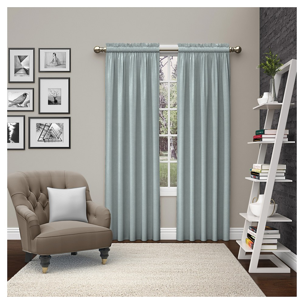"""Image of """"2 Piece Teller Curtain Panels Blue (28""""""""x84"""""""") - Pairs To Go, Adult Unisex"""""""