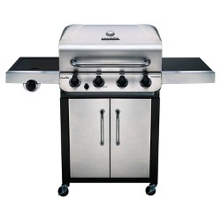 Char-Broil Performance 46,000 BTU Gas Grill with Side Burner 463375619 - Silver