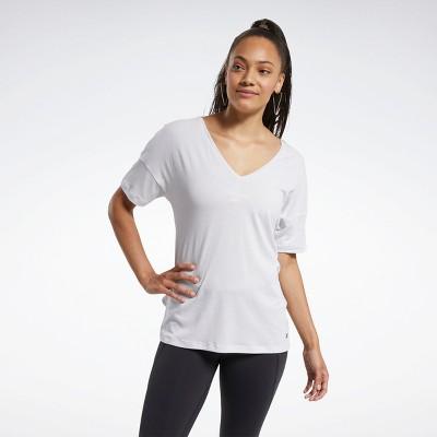 Reebok ACTIVCHILL+COTTON Tee Womens Athletic T-Shirts