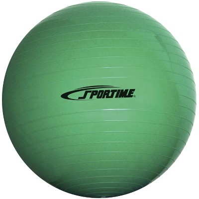 Sportime Economy Play and Exercise Ball, 25-1/2 Inches, Green