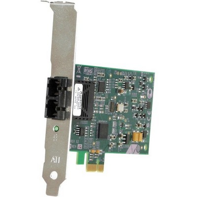 Allied Telesis AT-2711FX Fast Ethernet Fiber Network Interface Card - PCI Express x1 - 1 x ST - 100Base-FX