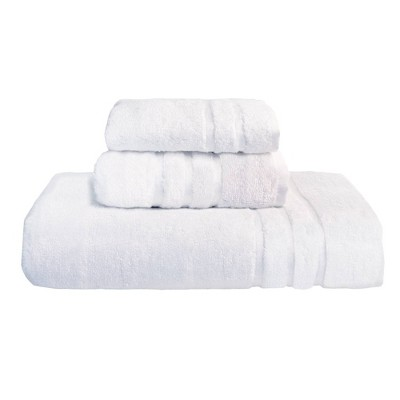 3pc Rayon from Bamboo Towel Set White - Cariloha