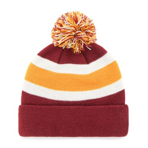 NFL Washington Redskins Breakaway Knit Beanie With Pom By Fan Favorite    Target cb4d9a1c0