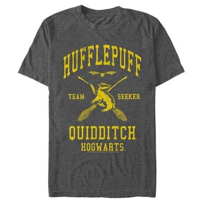 Men's Harry Potter Hufflepuff Quidditch Seeker T-Shirt