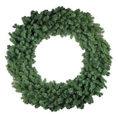 "Northlight 60"" Unlit Commercial Size Colorado Pine Artificial Christmas Wreath"