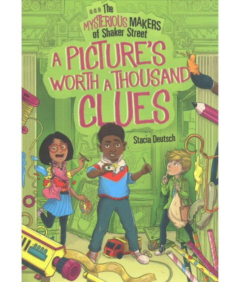 Picture's Worth a Thousand Clues (Paperback) (Stacia Deutsch) - image 1 of 1