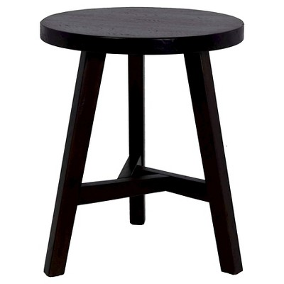 Chase End Table Small Stool - Threshold™ Dark Brown