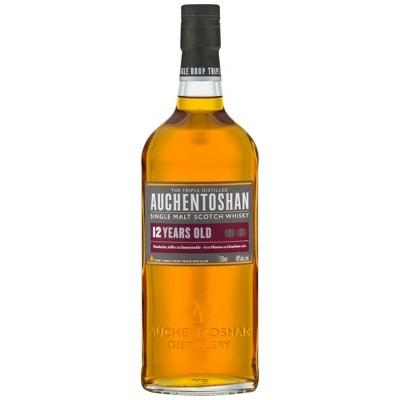 Auchentoshan Single Malt 12 Year Old Scotch Whiskey - 750ml Bottle