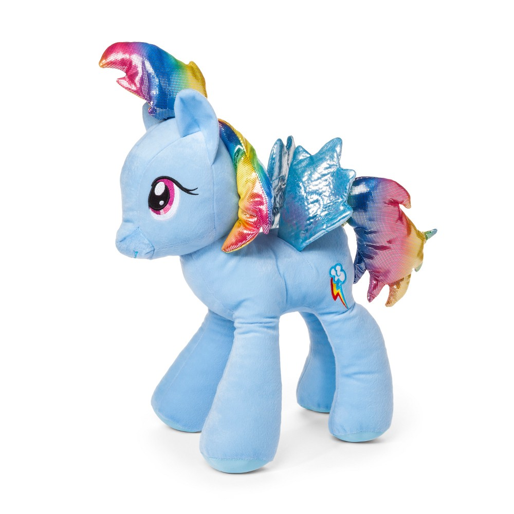 Image of My Little Pony Rainbow Dash Throw Pillow