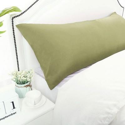 1 Pc Body 1800 Series Soft Brushed Microfiber Pillowcase Sage - PiccoCasa