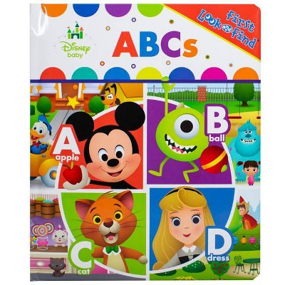 Disney Baby - (Look and Find)by Kathy Broderick (Board Book)