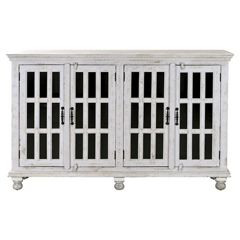 Kundara Four Door Credenza - White - Christopher Knight Home - image 1 of 3