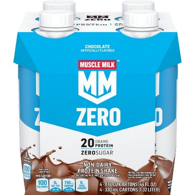 Muscle Milk Non-Dairy Protein Shake - Chocolate - 4pk/44 fl oz
