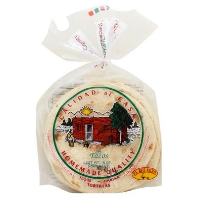 El Milagro Homemade Quality Flour Tortillas - 1lb