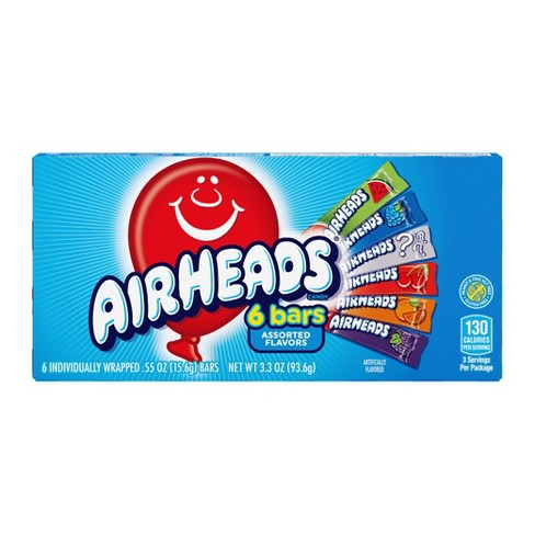 Perfetti Vanmelle Airheads Theater Box - 3.3oz 6ct - image 1 of 3