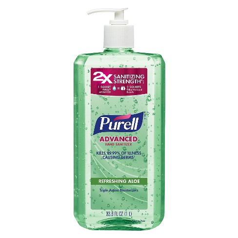 Purell Advanced Hand 2X Sanitizing Strength - 1 liter - image 1 of 2