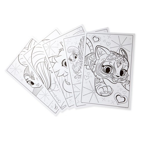 Crayola Shimmer And Shine Giant Coloring Pages Target