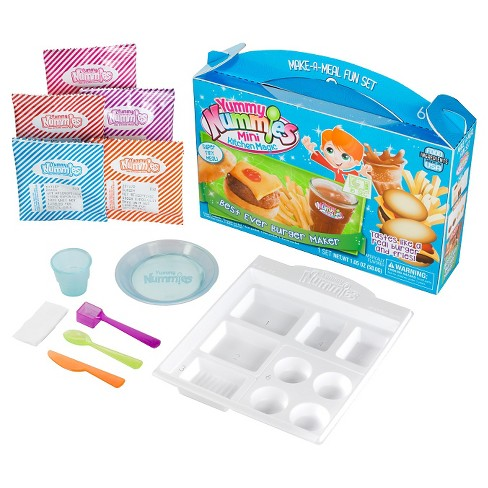 Yummy Nummies Make-a-Meal Fun Set - Best Ever Burger Maker - image 1 of 3