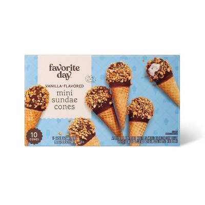 Mini Sundae Ice Cream Cones - 22.5oz/10ct - Favorite Day™