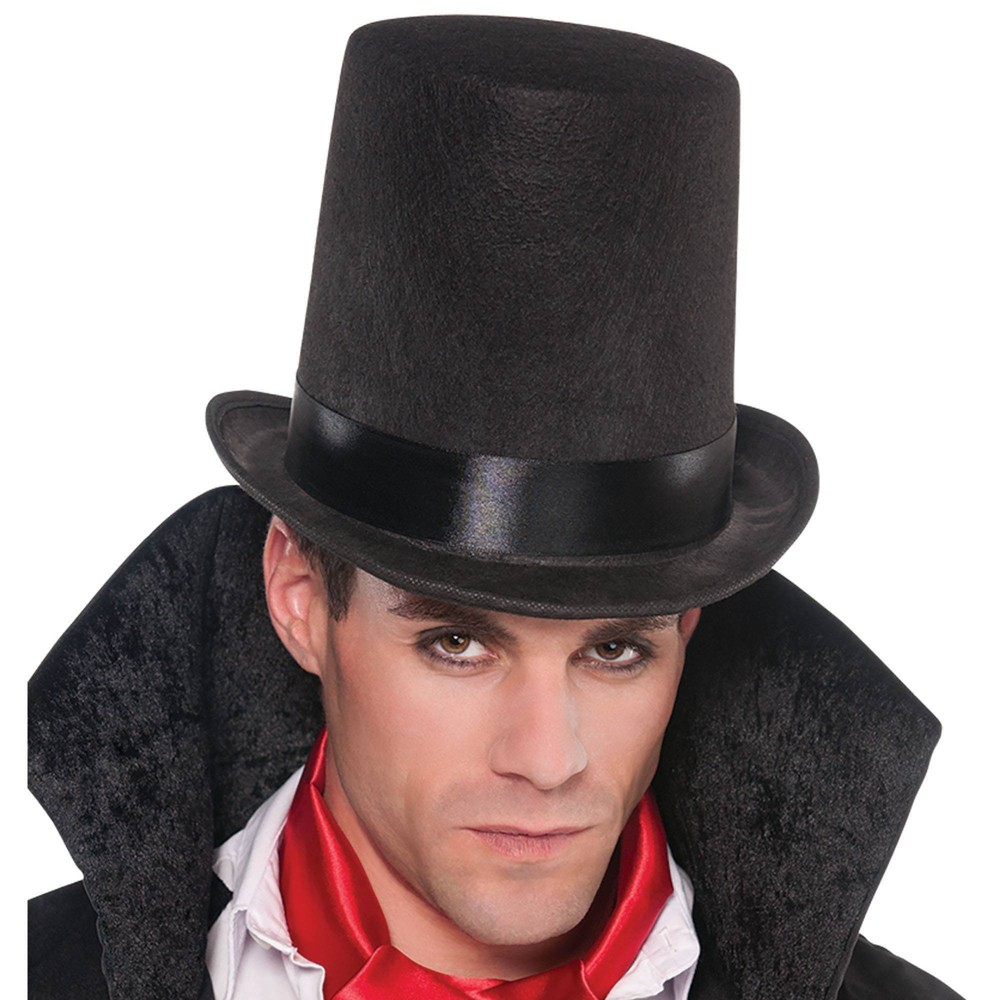 Image of Halloween Lincoln Stove Pipe Halloween Costume Headwear, Adult Unisex