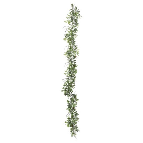 Artificial Olive Hill Garland (6') Green - Vickerman - image 1 of 1