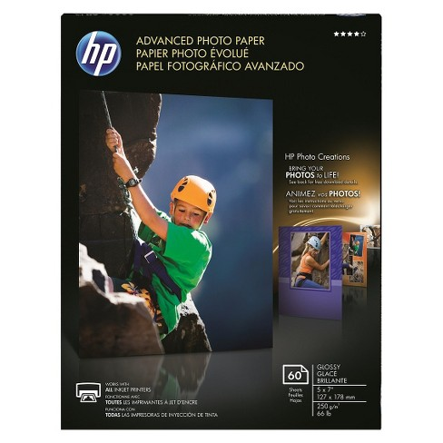 HP Advanced Photo Glossy Printer Paper - White (Q8690A) - image 1 of 1