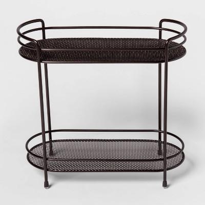 Two Tier Oval Shelf Mesh Orb Bronze - Threshold™