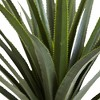 4ft Artificial Spiked Agave Plant in Pot Green - Nearly Natural - image 2 of 4