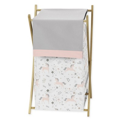 26.5  x 15.5  Unicorn Laundry Hamper - Sweet Jojo Designs