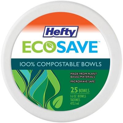 Hefty EcoSave Molded Fiber Bowl - 25ct