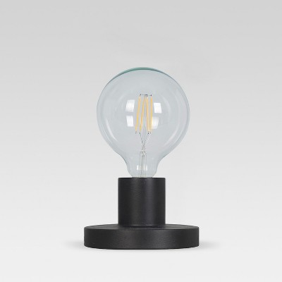 Industrial Metal Sconce / Sit Lamp Black (Includes Energy Efficient Light Bulb)- Project 62™ + Leanne Ford