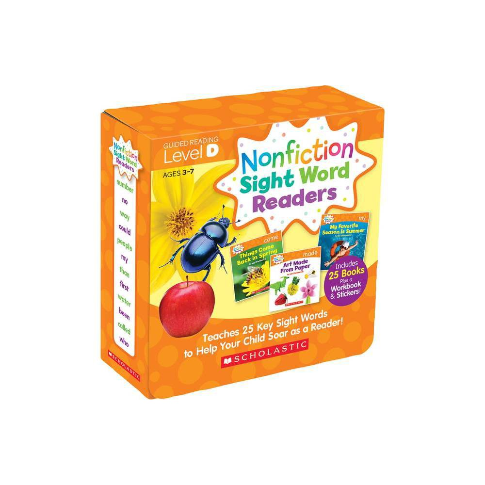 Nonfiction Sight Word Readers Guided Reading Level D Parent Pack By Liza Charlesworth Paperback