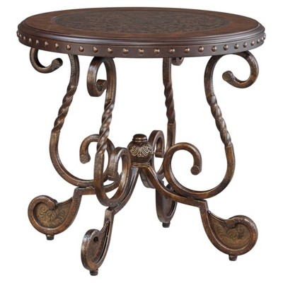 Rafferty End Table Dark Brown - Signature Design by Ashley