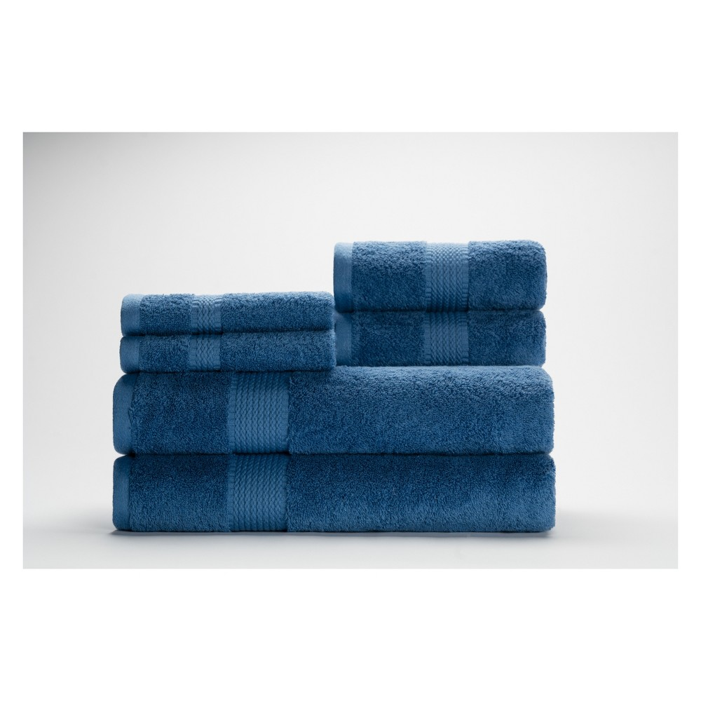Image of 6pc Cromwell Maritime Bath Towels Sets - Caro Home