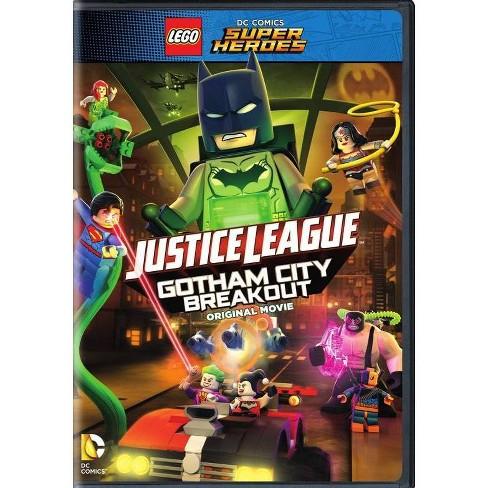 LEGO DC Comics Super Heroes: Justice League Gotham City Breakout (DVD) - image 1 of 1