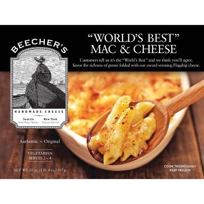 """Beecher's Vegetarian Frozen Handmade Cheese Frozen """"World's Best"""" Mac & Cheese - 20oz"""
