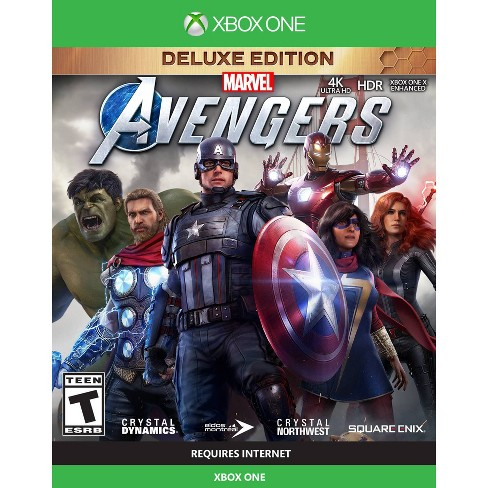 Marvel's Avengers: Deluxe Edition - Xbox One - image 1 of 4