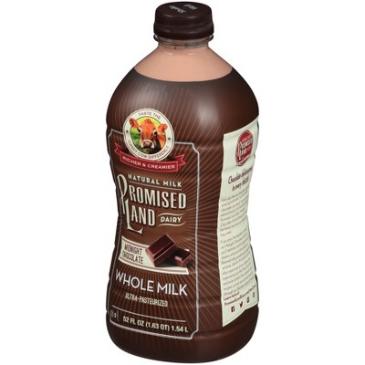 Promised Land Midnight Chocolate Flavored Whole Milk - 52 fl oz