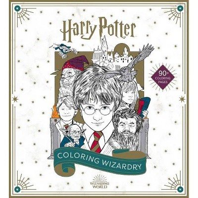 Harry Potter: Coloring Wizardry - by Insight Editions (Paperback)