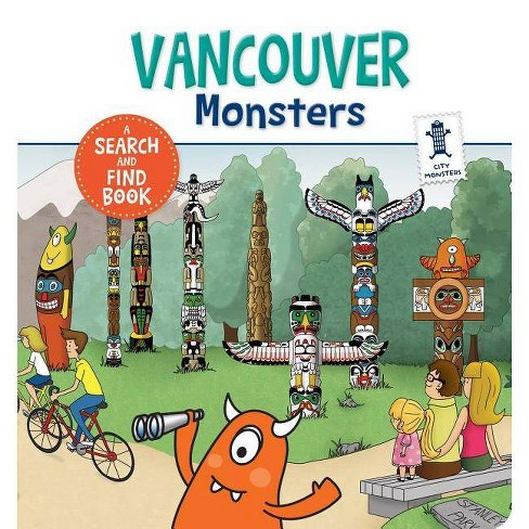 Vancouver Monsters - by  Anne Paradis (Hardcover) - image 1 of 1