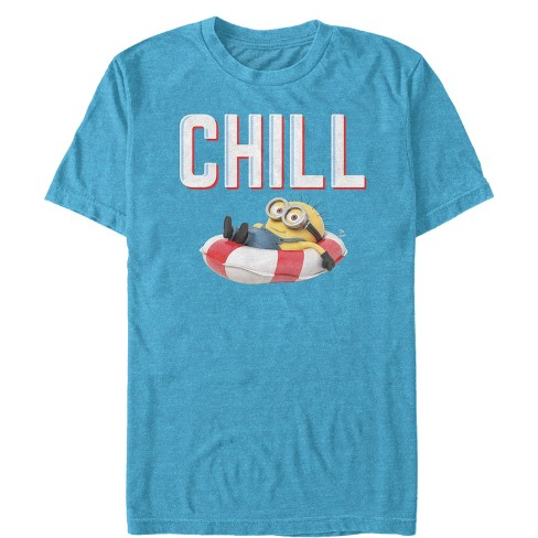 Men's Despicable Me Minions Chill Floatie T-Shirt - image 1 of 1